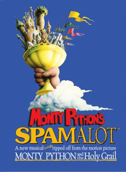 Key West theater Spamalot