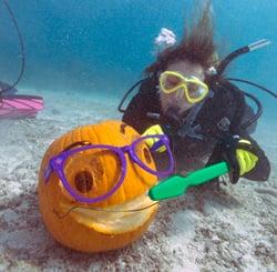 Underwater Pumpkins Key Largo