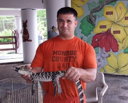 Keys animal farm inmate croc