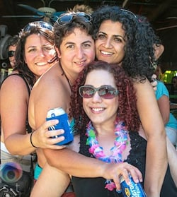 Singles, couples and groups of women flock to Key West each year to enjoy parties, performances and camaraderie. (Photo courtesy of Womenfest Key West)