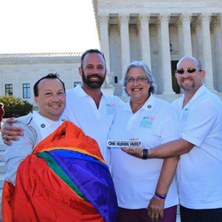 Key West LGBT contingent in Washington DC