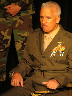 "Schaefer in ""A Few Good Men."""
