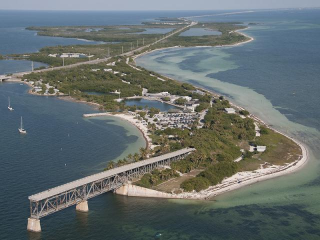 The Keys' most widely known beach area can be found at Bahia Honda State Park.