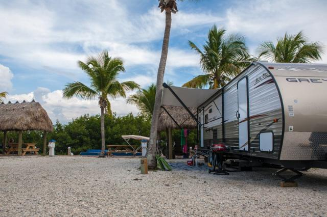 On Geiger Key in the Lower Keys, new RV rentals are available nightly, weekly or monthly.