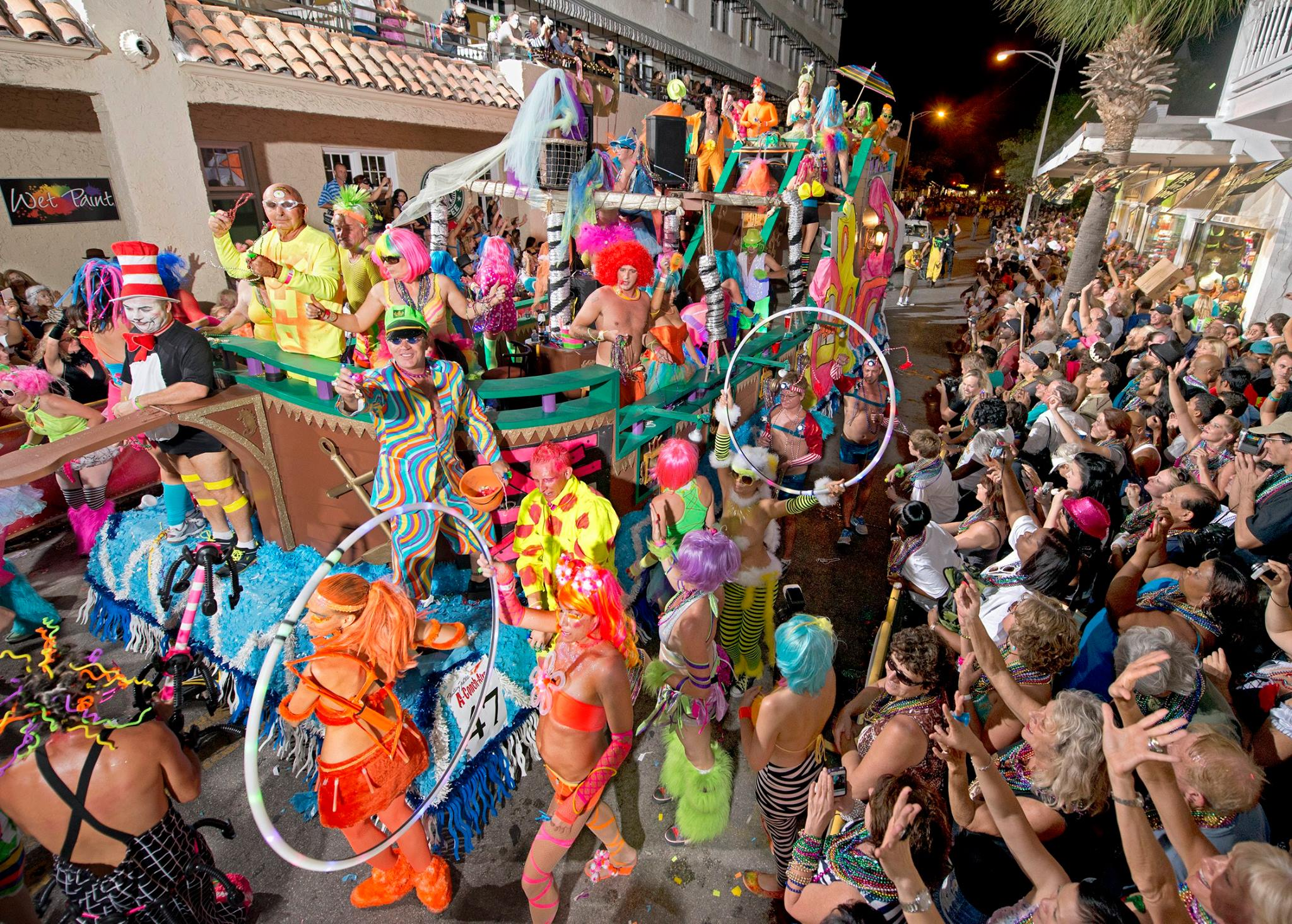 Key West's Fantasy Fest Underway with Creative Costumes and Colorful Craziness Now through Sunday, Oct. 29