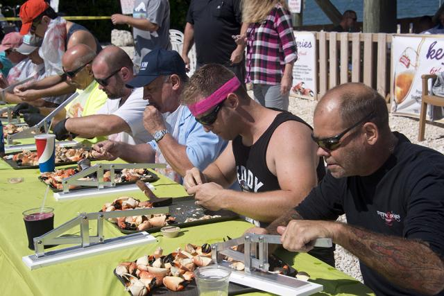 The contest honors the start of stone crab season, that starts Oct. 15 and runs through May 15.