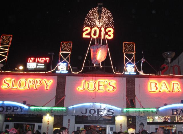 "Also in Key West, revelers can welcome 2018 with a ""conch shell drop"" at Sloppy Joe's Bar. Image: Rob O'Neal"