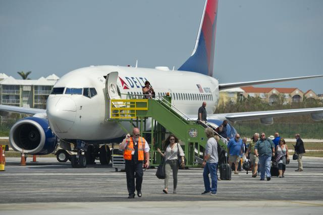 Key West's airport is to remain open as renovations progress to accommodate scheduled commercial airlines during the day — American, Delta, Silver and United — and general aviation.