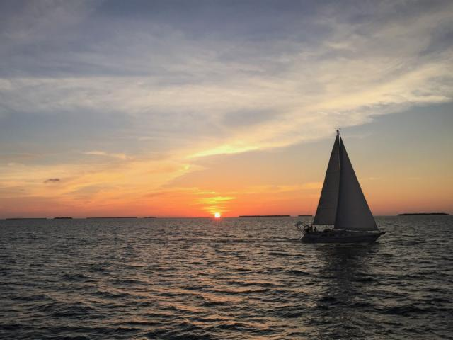 Take a two-hour day sail, two-hour sunset sail or a private charter to celebrate sunset. Pic: Kirsten Wenger/Florida Keys Photo Adventure
