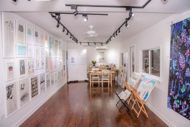 "Portside Studio and Gallery has ""unique Linocut art with a tropical vibe and is a hub for fresh art in Islamorada."