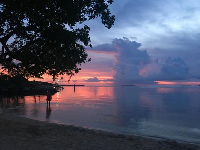 Dine with a sunset backdrop at Islamorada's Marker 88. Credit: Beth Higham