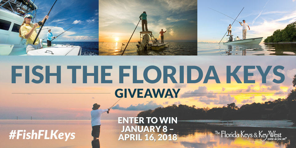 Follow the Florida Keys at #FishFLKeys for a Chance to Win an Angling Vacation