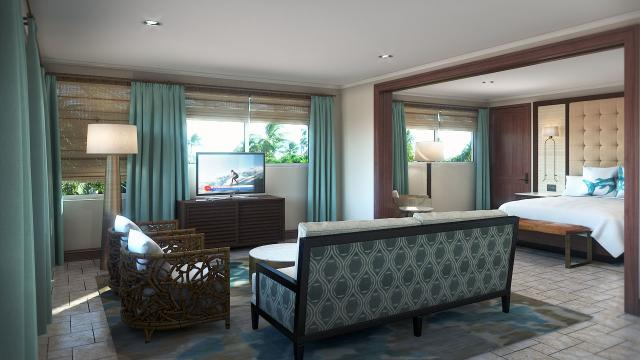 One of the fabulous new suites at Cheeca Lodge. Photo credit: Cheeca