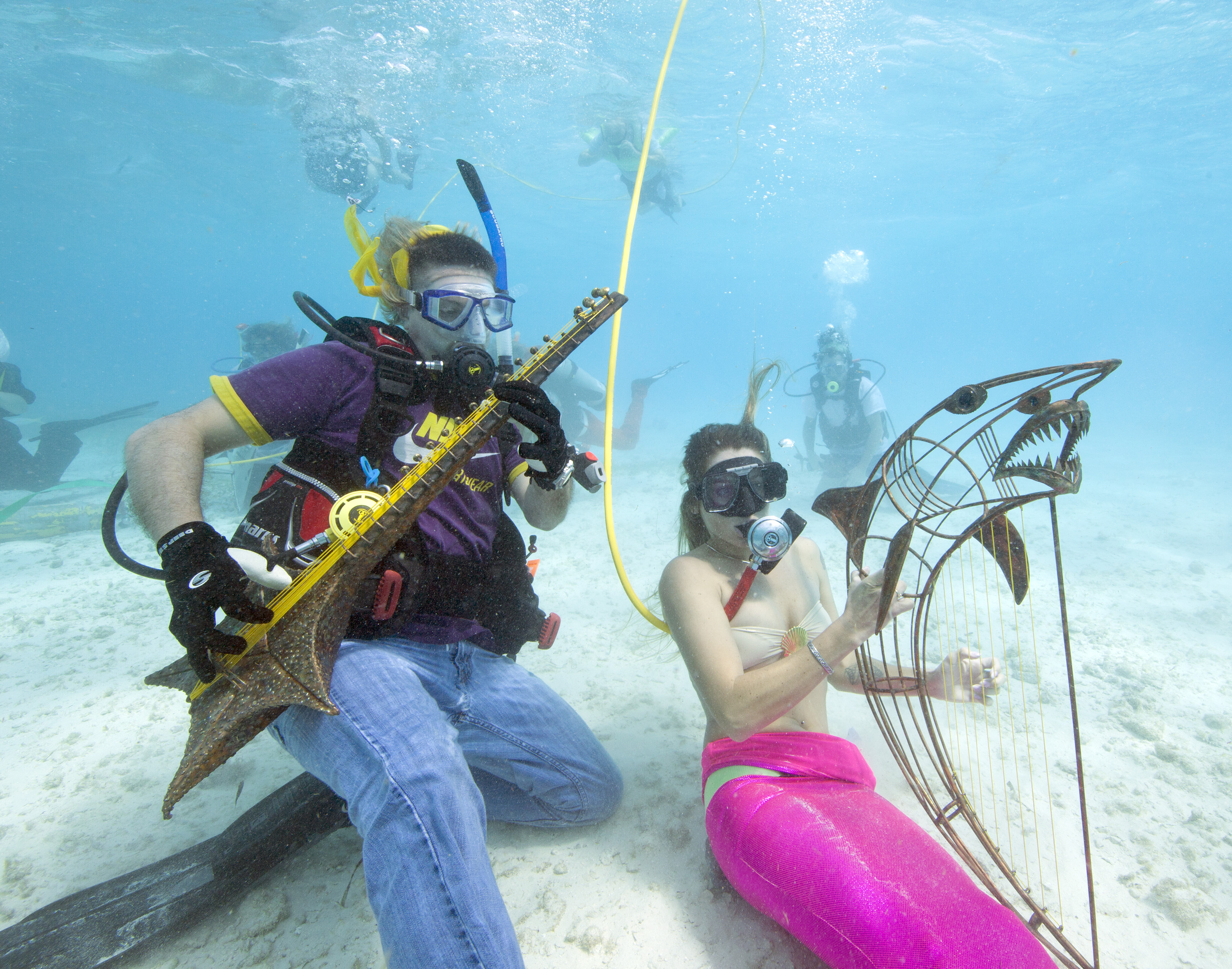 Lower Keys Underwater Music Festival to Encourage Reef Protection