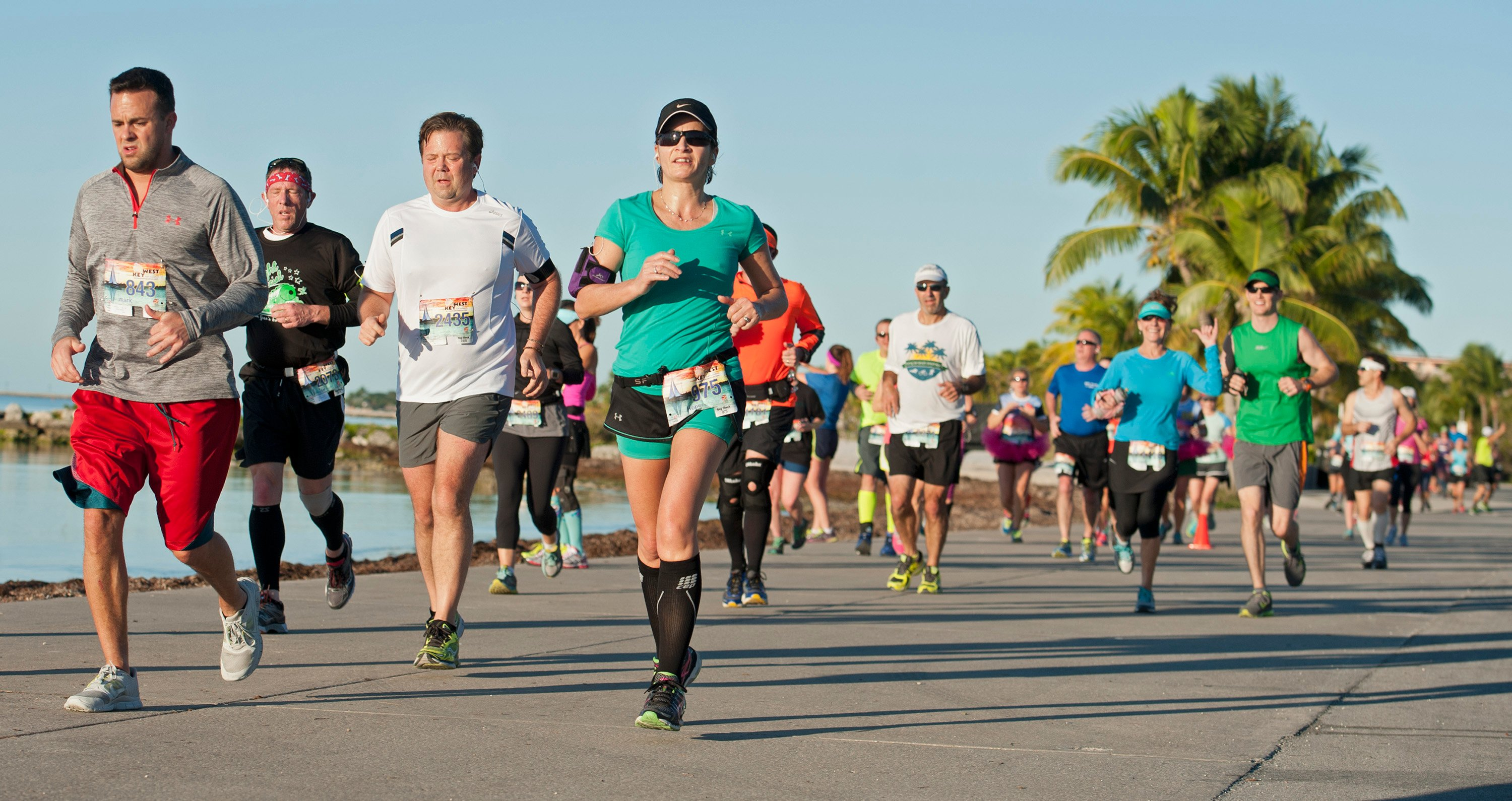 Runners to Chart a Key West Course During Top-Ranked Half-Marathon