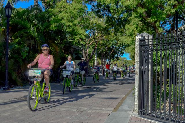 Peaceful adventure in Key West on the Key Lime Bike Tour_Credit Timothy Pierce and KLB Tours