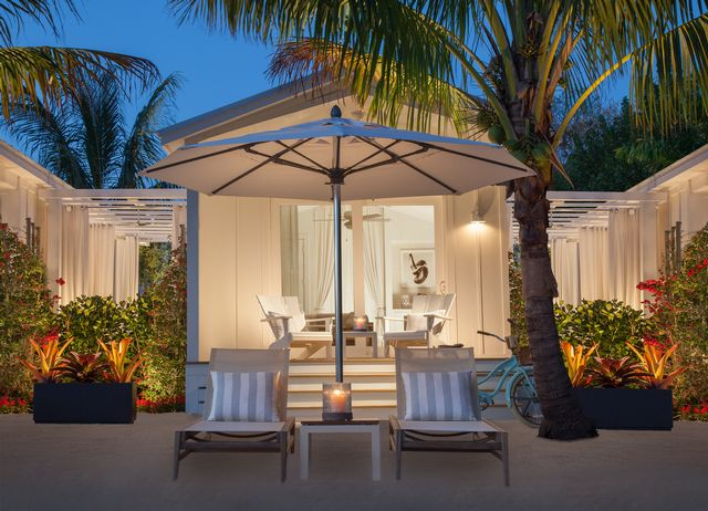 The new adults-only Bungalows Key Largo is the Keys' first all-inclusive resort. Credit Bungalows