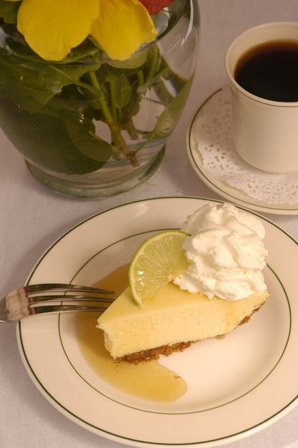 Make a classic Key Lime Pie at the Key West Key Lime Pie Co. Credit Bob Krist