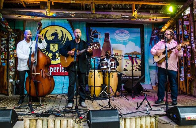 Revelers can enjoy a Saturday night concert of Cuban music by Cortadito.