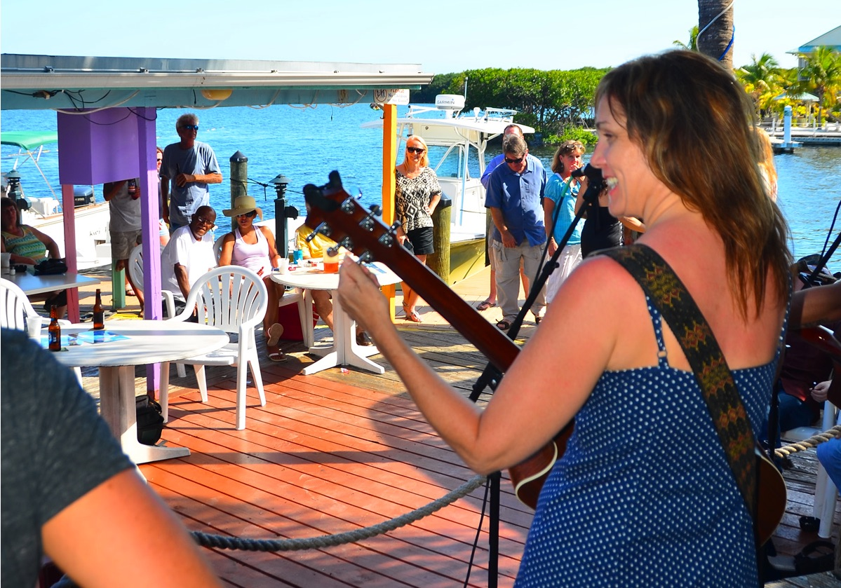 Five Outdoor Bayside Stages to Backdrop  Key Largo Original Music Fest May 16-19