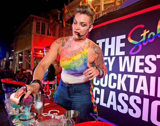 Stoli Key West Cocktail Classic brings winning mixologists from LGBTQ bars in 14 North American cities to Key West.