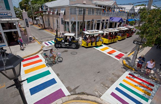 "Key West is renowned for its ""One Human Family"" philosophy of unity and equality."