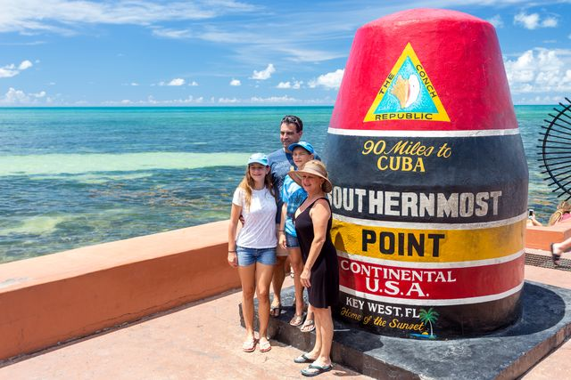 Southernmost Point in Key West (c) Laurence Norah Florida Keys News Bureau