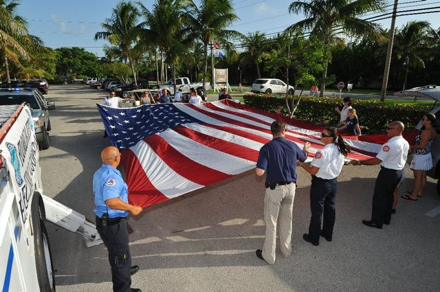 Florida Keys Heroes Tribute honors male and female members of the military, fire rescue, police and medical personnel who serve and sacrifice for the nation.