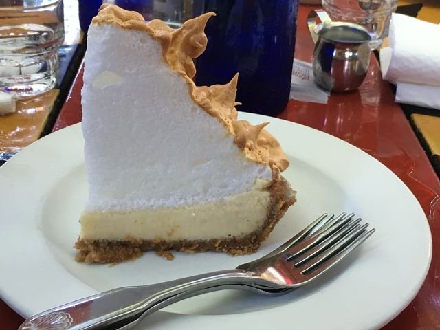 Blue Heaven's iconic Key lime pie_Credit Beth Higham