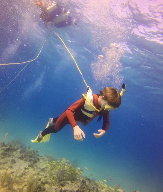 SNUBA is particularly suited to multigenerational family adventurers — children 8 years and older, couples, active seniors and people interested in an underwater experience.