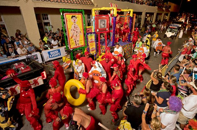 Exotic Parade to Highlight Key West's 'Off Key' Fantasy Fest Oct. 26