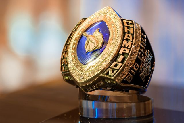 The Billfish Championship's first-place team is to receive a cash prize and all anglers on the winning boat receive authentic, custom-designed Jimmy Johnson NBC Championship rings.