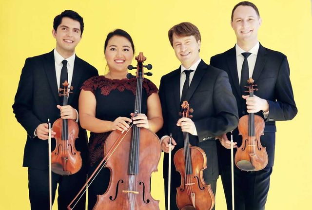 Impromptu Classical Concerts of Key West features the Calidore String Quartet in March.