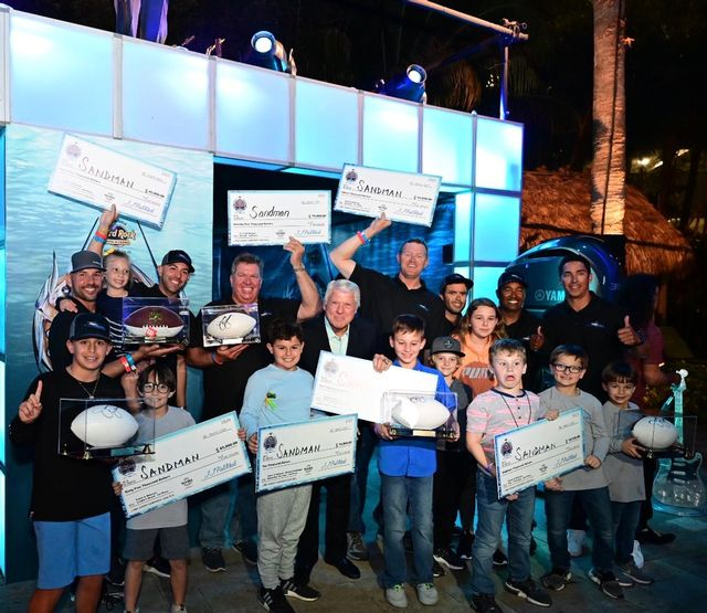 The Sandman team was presented with authentic, custom-designed Jimmy Johnson's NBC Championship rings for each team member, in addition to $238,000 in overall prize money.