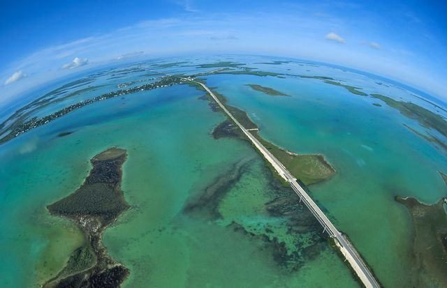 Overseas Highway Aerial_Credit Andy Newman