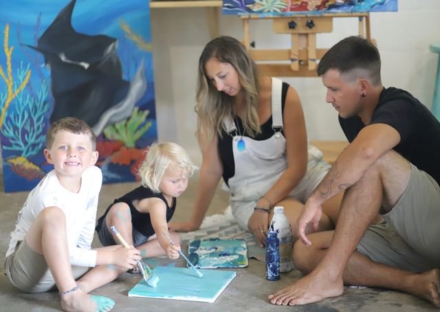 Cecil wants her boys to see that she is doing what she loves every day while also helping to save our oceans and shorelines.