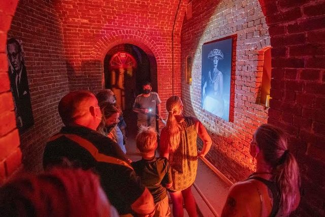 A Robert the Doll Experience ghost tour that began in September takes guests through the Fort East Martello Museum, Key West's historic Civil War–era fort. Image courtesy of David Sloan