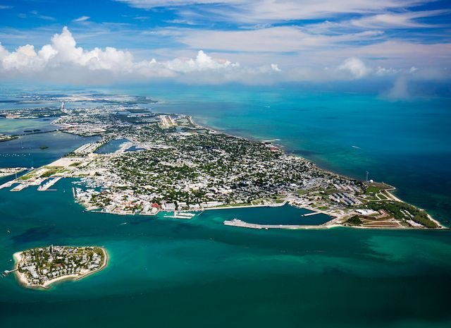 Key West provides air service for visitor drawn to experience the Florida Keys. Image: Rob O'Neal