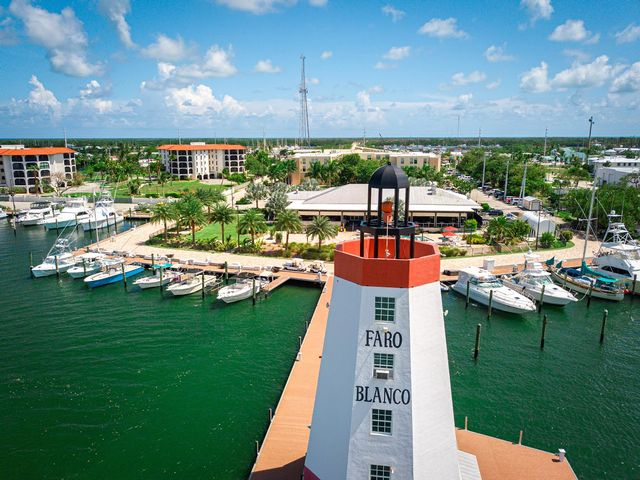 Faro Blanco Resort & Yacht Club's n-site landmark Faro Blanco Lighthouse has guided guests by land and sea since the 1950s.
