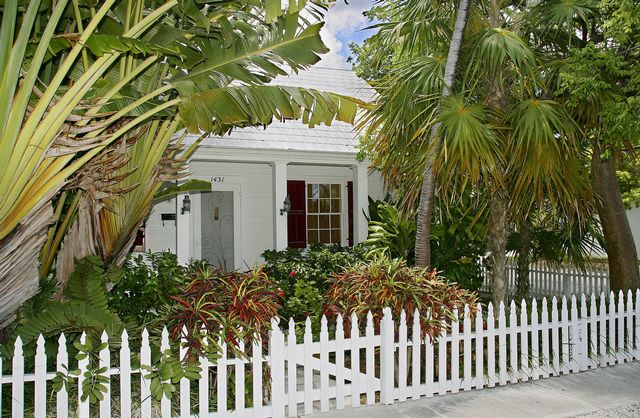 Internationally renowned playwright Tennessee Williams purchased a house in Key West. The red-shuttered house, still standing on a quiet, tree-lined street, is privately owned and is not open to the public.