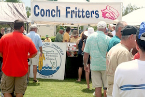 Conch fritters are one of the popular offerings at the annual munch fest.