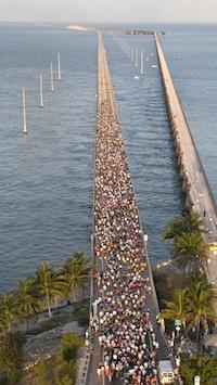 Seven-Mile and 'Zero k' Florida Keys Bridge Runs Set For April 18.