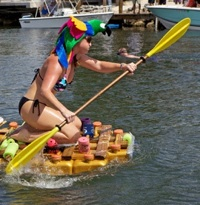'Sailors' to Steer Crazy Craft in Key West's Minimal Regatta May 26. Click for details.