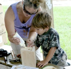 Families can participate in several activities at the free-admission, Wildlife Fair and Family Day set for 10 a.m. to 3 p.m. Saturday, Sept. 27, at Curry Hammock.