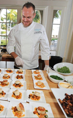 Klein's experience includes opening the former Café Moka in Key West, later working at Alonzo's Oyster Bar for two years as sous and executive sous chef, and executive sous chef at Ocean Key Resort's Hot Tin Roof. He joined Fish in August 2016.