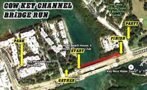 Cow Key Channel Bridge, stretching about 300 feet between Key West and neighboring Stock Island, is among the shortest of the Florida Keys Overseas Highway's 42 bridges.