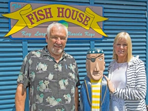 Prew has owned The Fish House with partner C.J. Berwick for nearly 30 years.