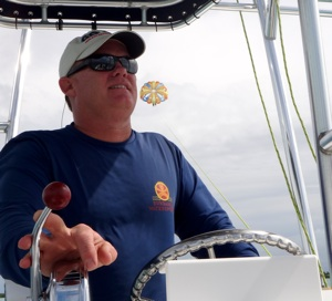 George Shattuck is as much at the helm of running Sundance Watersports as he is the parasailing adventure boat, guiding the daily enjoyment of Middle Keys visitors. Images courtesy of Sundance Watersports