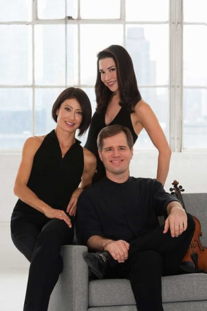 Key West Impromptu Classical Concerts presents the irresistible blend of classical jazz, Latin, Broadway/film and original compositions of the Intersection Trio this season.