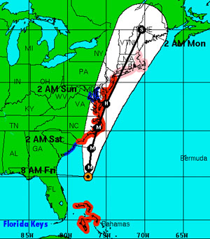 Hurricane Irene Misses Florida Keys